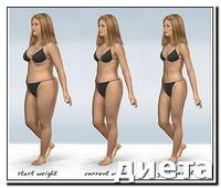 похудеть на 2 размера за месяц